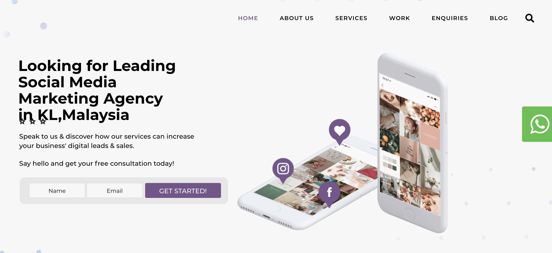 Tinker Society Website Content Marketing