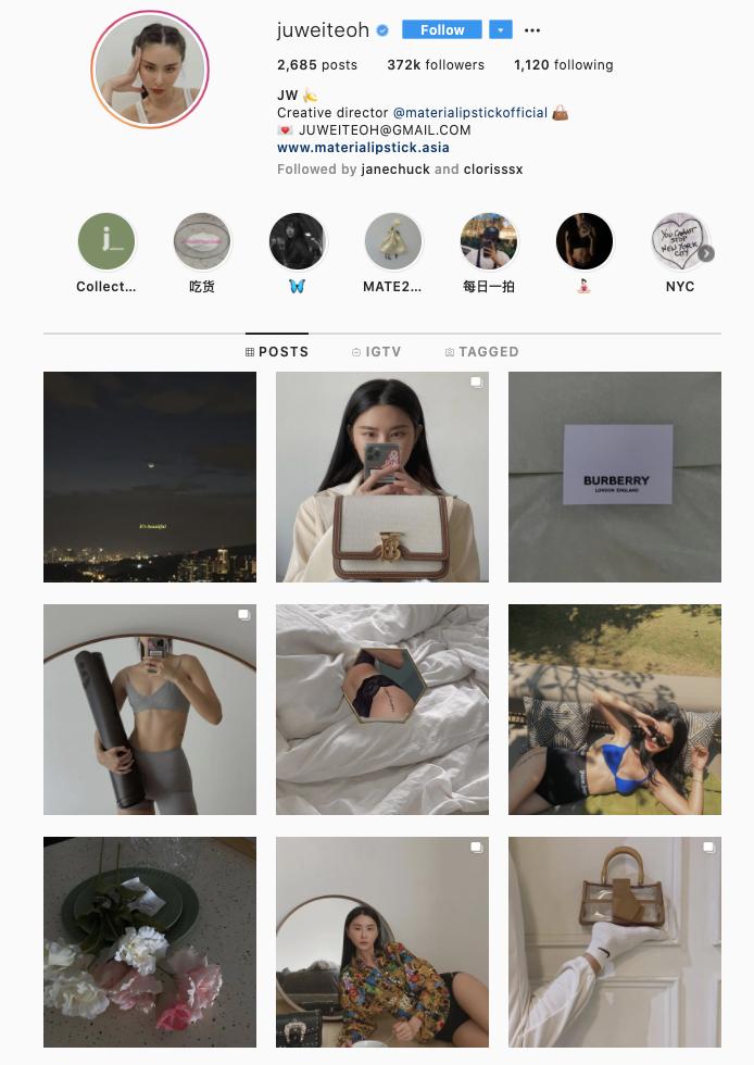 Juwei Teoh Instagram