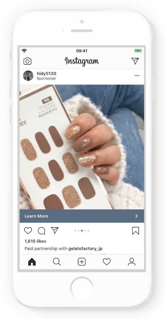 Gelato Factory Instagram Ad
