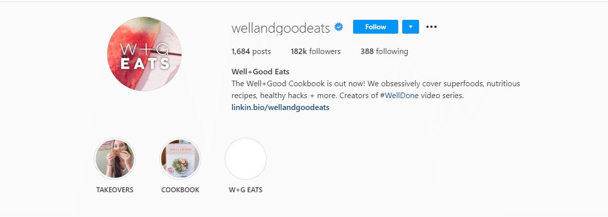 wellandgoodeats Instagram