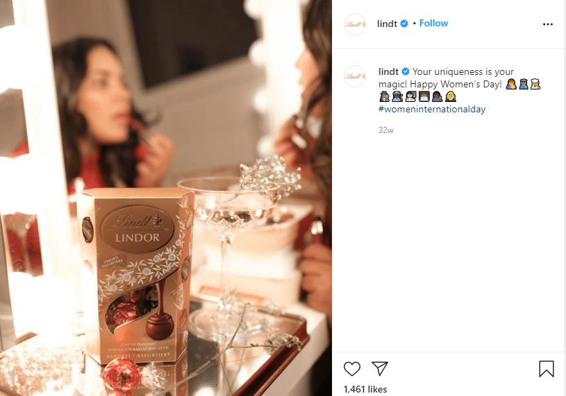 marketing strategies of lindt chocolate