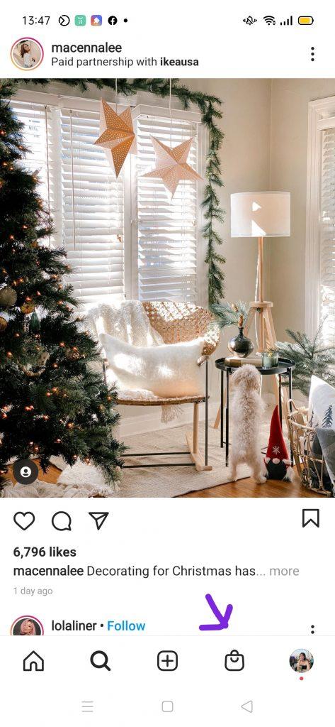 Instagram Shopping Button