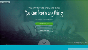 """Start Learning Now"" CTA on a landing page"