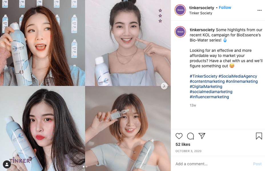 Asian faces for a Malaysian skincare brand