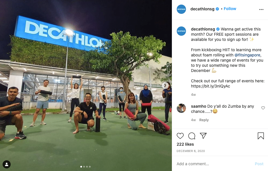 decathlon experiences marketing