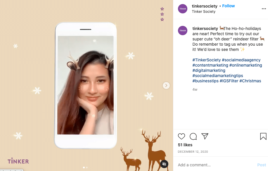 creating your own AR filter can get you more Instagram Followers